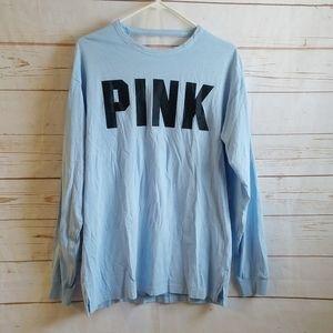 NWT Victoria's Secret Pink Long Sleeve Back Cutout